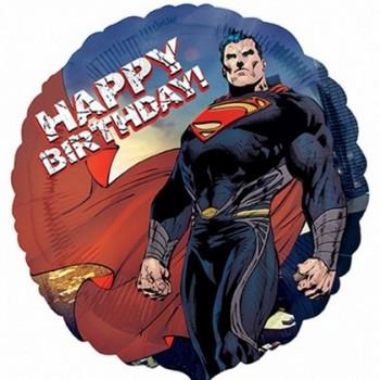 Palloncino Mylar 45 cm. Superman Man Of Steel