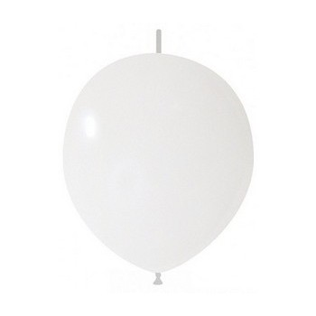 Palloncino in Lattice Link 32 cm. Bianco