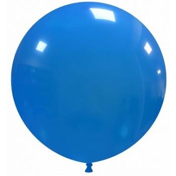 Palloncino in Lattice Rotondo 80 cm. Blu Chiaro - Round