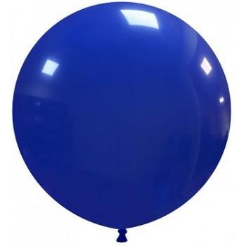 Palloncino in Lattice Rotondo 80 cm. Blu Scuro - Round