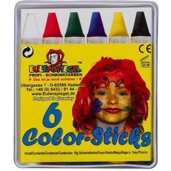 Set 6 colori a cera