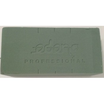 Spugna verde per centro tavola 23x11x7,5 cm