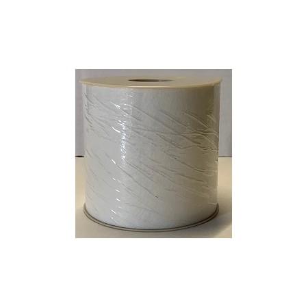 Nastro TNT Nuvola color Bianco 04 - h.10 cm. x 50 mt. per decorazione centro tavola