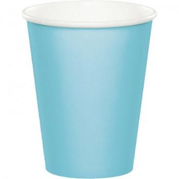 Azzurro - Bicchiere Carta 266 ml. - 8 pz.