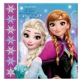 Coordinato Frozen - Tovagliolo 33x33 cm. - 20 pz.