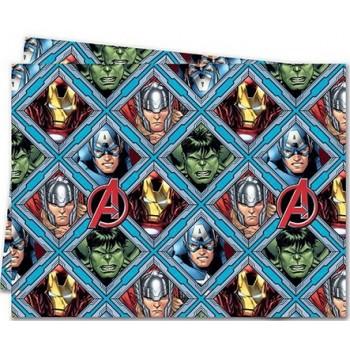 Coordinato Avengers - Tovaglia Plastica 120x180 cm.