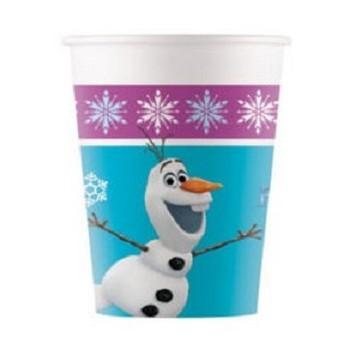 Coordinato Frozen - Bicchiere Carta 200 ml. - 8 pz.