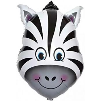 Palloncino Mylar Super Shape 64 cm. Zebra