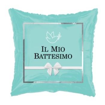 Palloncino Mylar 45 cm. Bimbo - Il Mio Battesimo Chic