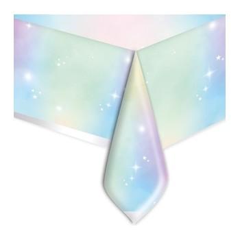 Coordinato - Tovaglia Plastica Soft Rainbow 140 x 270 cm.