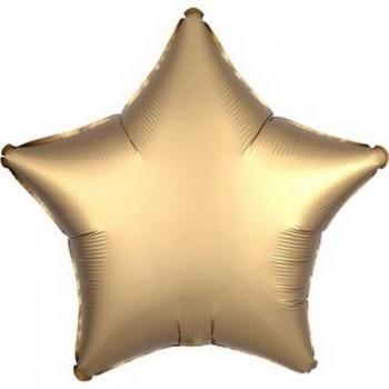 Palloncino Mylar 45 cm. Stella Satinata Oro
