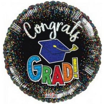 Palloncino Mylar 45 cm. Congrats Grad...