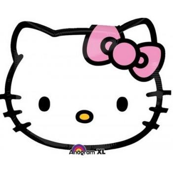 Palloncino Mylar 45 cm. Hello Kitty Head