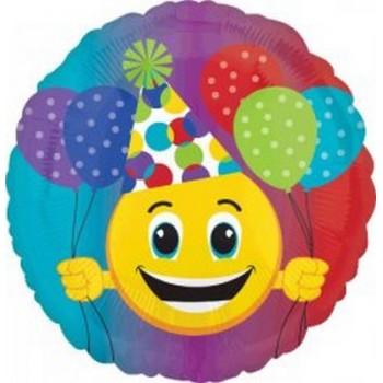 Palloncino Mylar 45 cm. R - Party Emoticon
