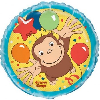 Palloncino Mylar 45 cm. Curious George
