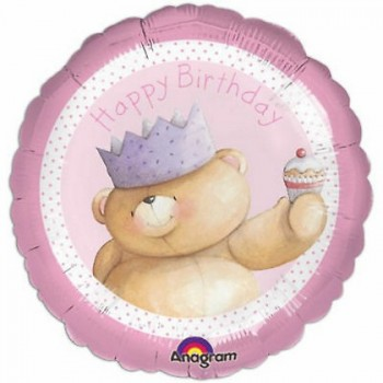 Palloncino Mylar 45 cm. R - Happy Birthday Friends Forever