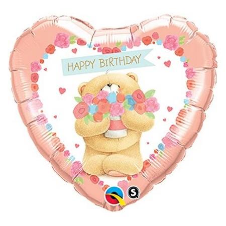 Palloncino Mylar 45 cm. C - Forever Friends Heart