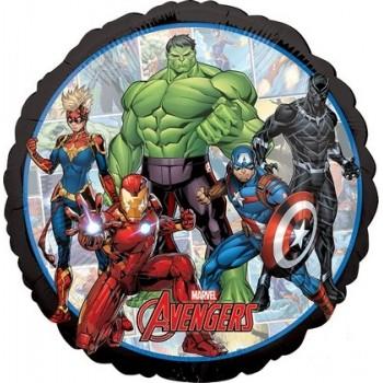 Palloncino Mylar 45 cm. Avengers Marvel Powers Unite