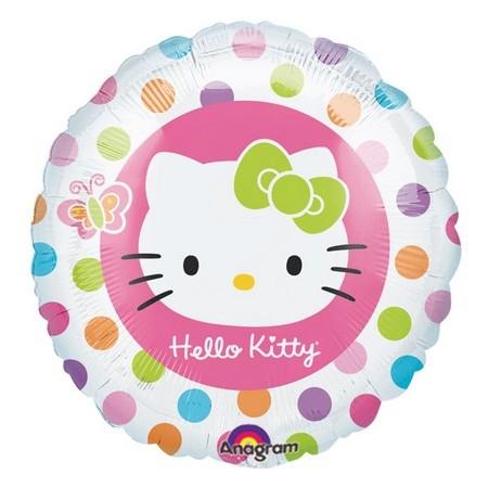 Palloncino Mylar 45 cm. Hello Kitty Balloons Border