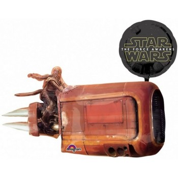 Palloncino Mylar Super Shape 88 cm. Star Wars the Force Awakens