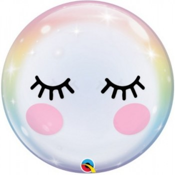 Palloncino Bubble 56 cm. Eyelashes