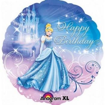 Palloncino Mylar 45 cm. Princess Cinderella Birthday