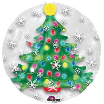 Palloncino Bubble 60 cm. Bubble Christmas Tree
