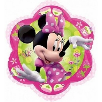 Palloncino Mylar 45 cm. Minnie Mouse Flower