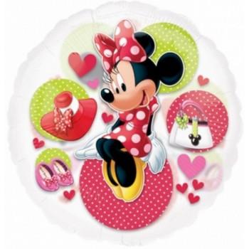 Palloncino Mylar Jumbo 66 cm. Minnie Mouse See-Thru