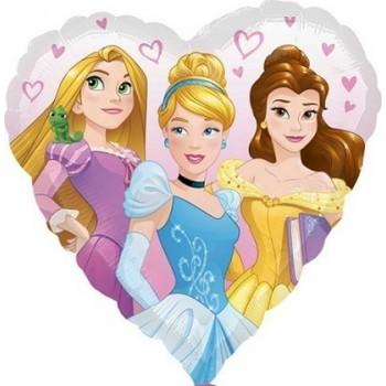Palloncino Mylar 45 cm. Princess Dream Big Heart