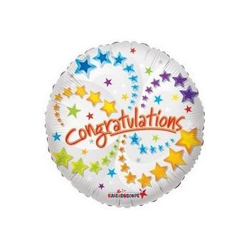 Palloncino Mylar Mini Shape Congratulations - 22 cm.