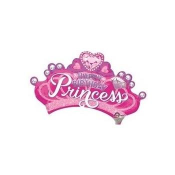 Palloncino Mylar Mini Shape 35 cm. Princess Crown