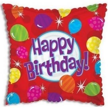 Palloncino Mylar 45 cm. Q - Birthday Bright