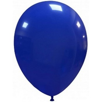 Palloncino in Lattice Rotondo 30 cm. Blu Scuro