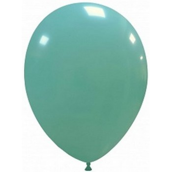 Palloncino in Lattice Rotondo 30 cm. Verde Tiffany