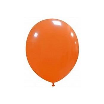 Palloncino in Lattice Rotondo 12,5 cm. Arancione