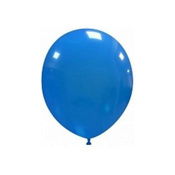 Palloncino in Lattice Rotondo 12,5 cm. Blu Chiaro