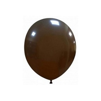 Palloncino in Lattice Rotondo 12,5 cm. Marrone