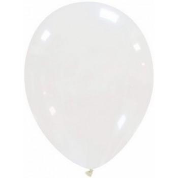 Palloncino in Lattice Rotondo 30 cm. Crystal Trasparente