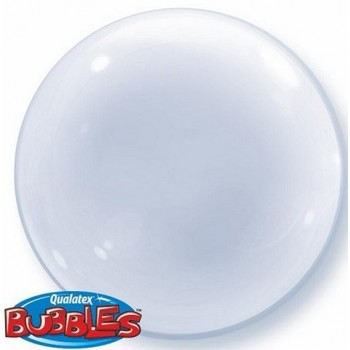 Palloncino Bubble 51 cm. Trasparente