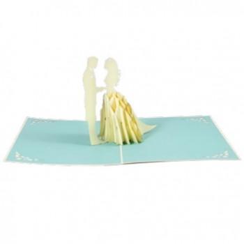 Biglietti Auguri Origami - Sposi 16 x 20 cm.