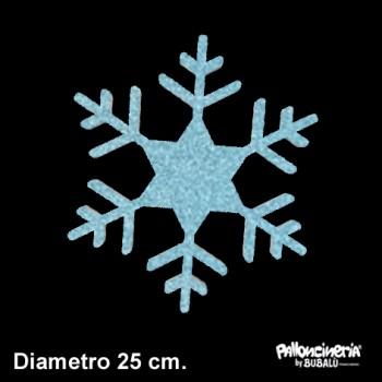Sagoma ghiaccio A glitter o colore profondità 5 cm. max - diametro 25 cm.