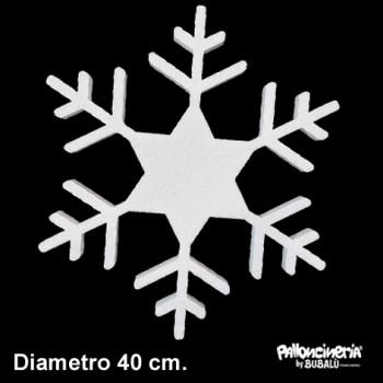 Sagoma ghiaccio B Bianca profondità 5 cm. max - diametro 40 cm.