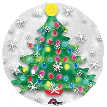 Palloncino Bubble 60 cm. Bubble Christmas Tree