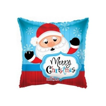 Palloncino Mylar Mini Shape 22 cm. Santa Christmas