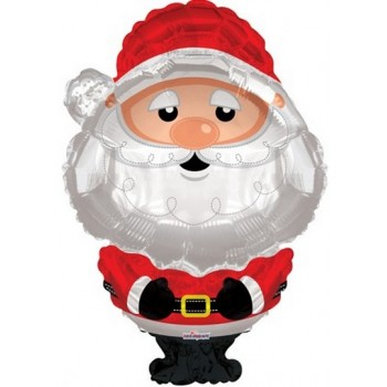 Palloncino Mylar Super Shape 91 cm. Santa Christmas