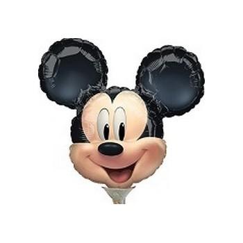 Palloncino Mylar Mini Shape Mickey Mouse- 27 cm.