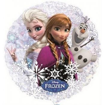 Palloncino Mylar 45 cm. Frozen - Disney Frozen Holographic