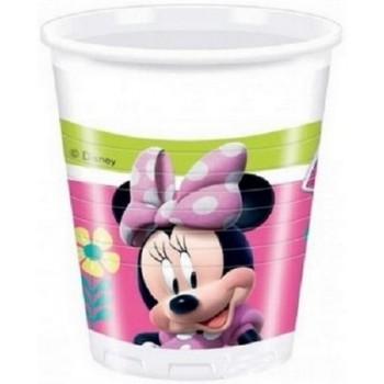 Coordinato Minnie - Bicchiere Plastica 200 ml. - 8 pz.