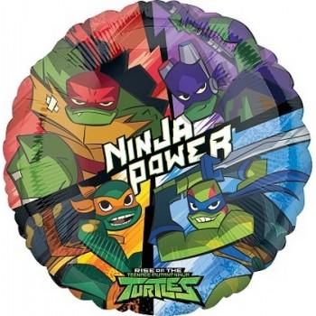Palloncino Mylar 45 cm. Ninja Turtles 1
